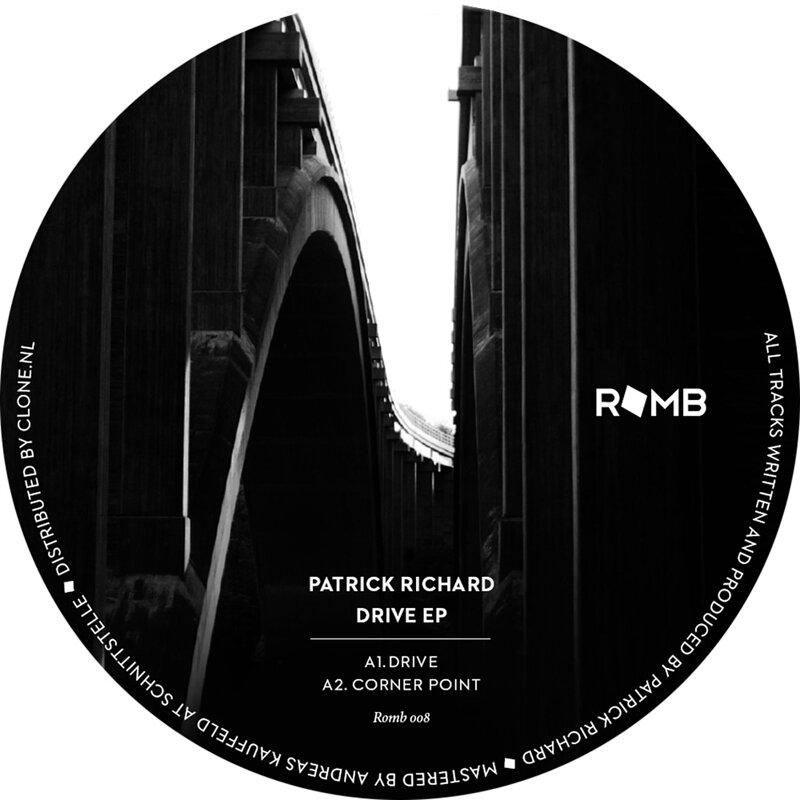Cover art - Patrick Richard: Drive EP