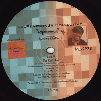 Cover art - Lee Pearson Jr Collective: Expressions EP