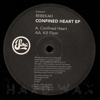 Cover art - Rebekah: Confined Heart