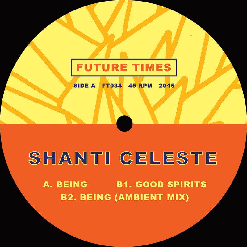 Cover art - Shanti Celeste: Being