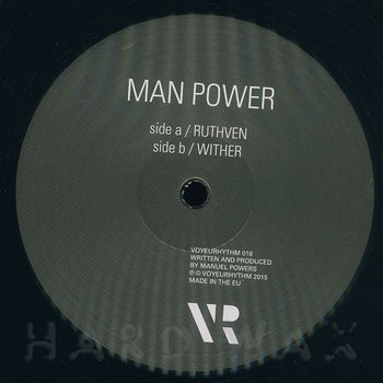 Cover art - Man Power: Ruthven