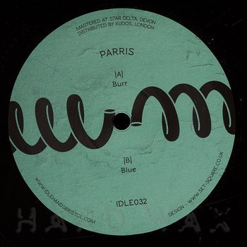 Cover art - Parris: Burr