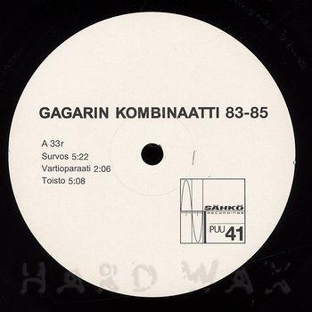Cover art - Gagarin Kombinaatti: 83-85