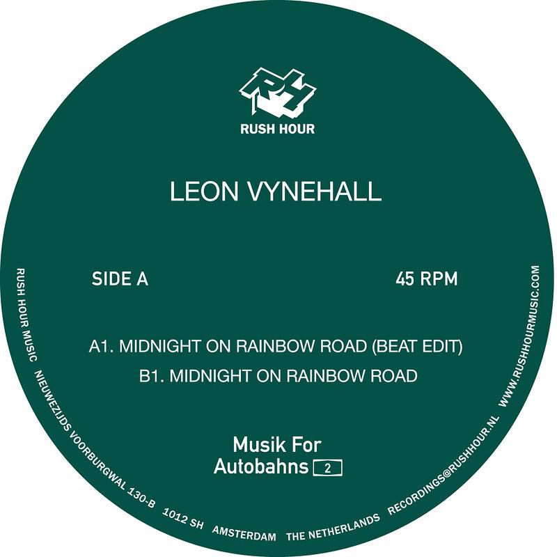 Cover art - Leon Vynehall: Midnight On Rainbow Road