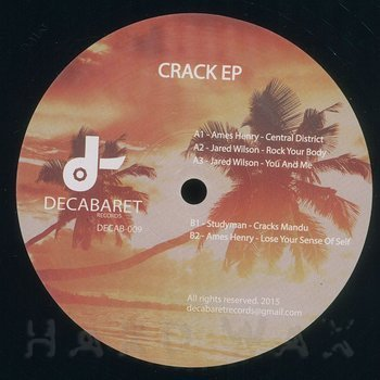 Cover art - Various Artists: Crack EP