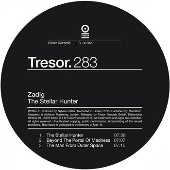 Cover art - Zadig: The Stellar Hunter EP