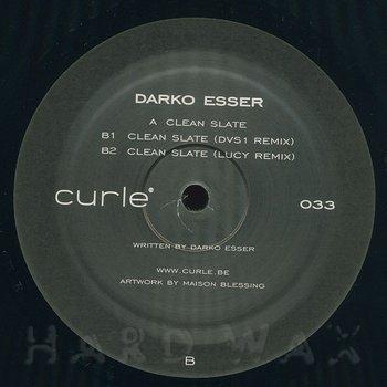 Cover art - Darko Esser: Clean Slate