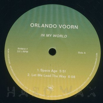Cover art - Orlando Voorn: In My World