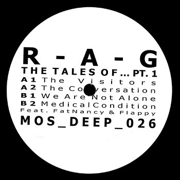 Cover art - R-A-G: The Tales Of... Pt. 1