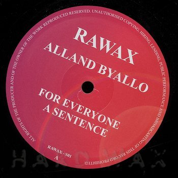 Cover art - Alland Byallo: For Everyone A Sentence