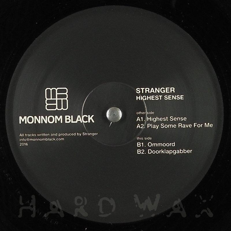 Cover art - Stranger: Highest Sense