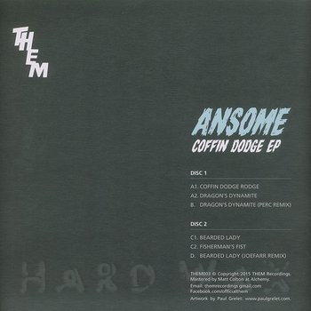 Cover art - Ansome: Coffin Dodge