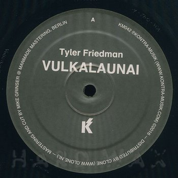 Cover art - Tyler Friedman: Vulkalaunai