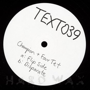 Cover art - Champion + Four Tet: Flip Side