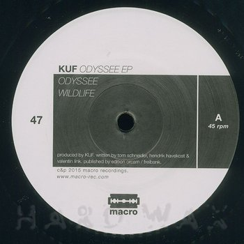 Cover art - Kuf: Odyssee