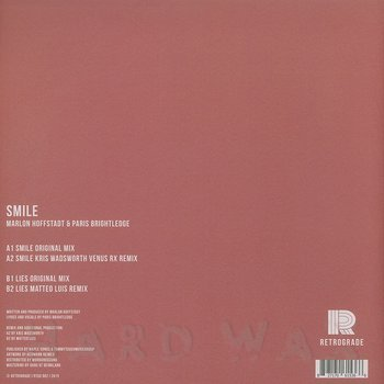 Cover art - Marlon Hoffstadt & Paris Brightledge: Smile
