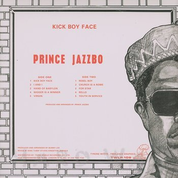 Cover art - Prince Jazzbo: Kick Boy Face