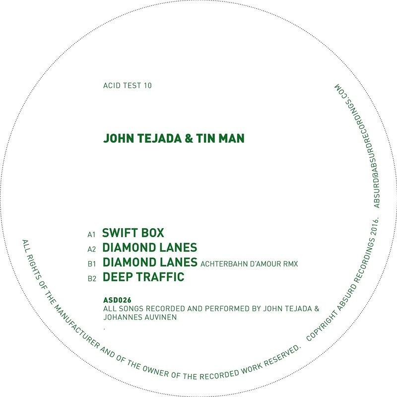 Cover art - John Tejada & Tin Man: Acid Test 10