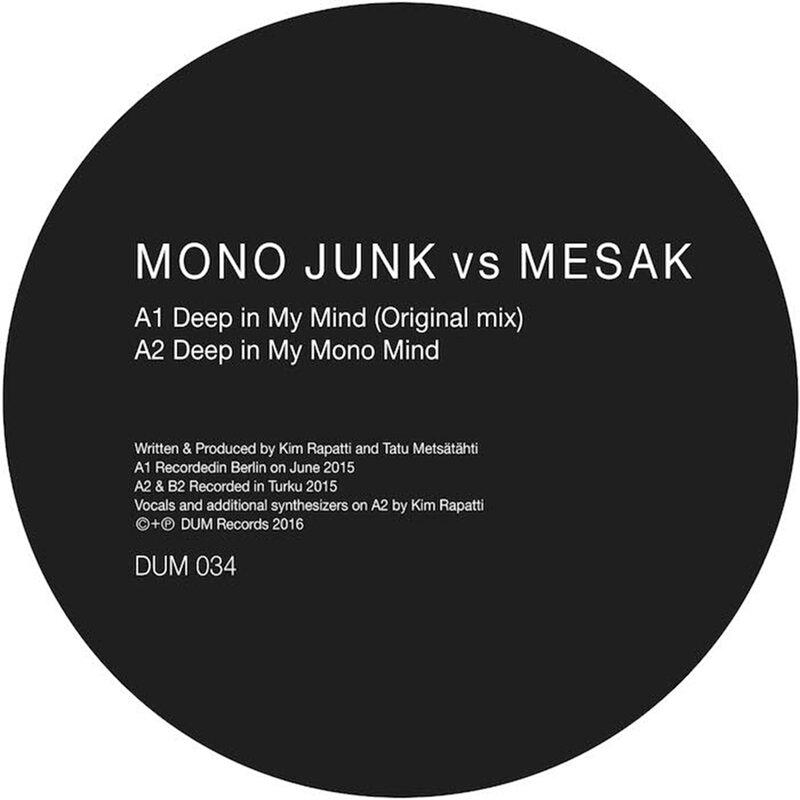 Cover art - Mono Junk vs Mesak: Deep In My Mind