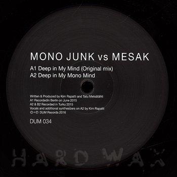 Cover art - Mono Junk Vs. Mesak: Deep In My Mind