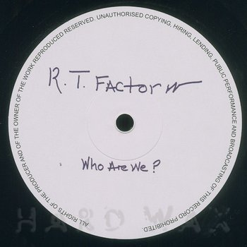 Cover art - R.T. Factor: What Does It Mean
