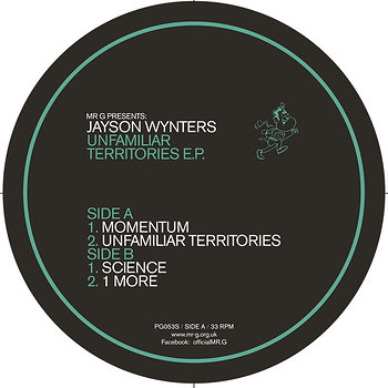 Cover art - Jayson Wynters: Unfamiliar Territories