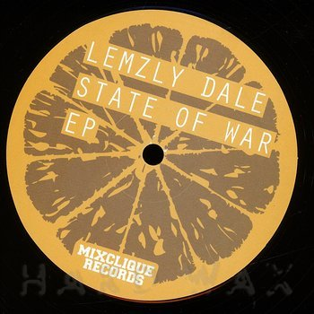 Cover art - Lemzly Dale: State Of War EP