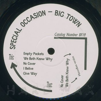 Cover art - Special Occasion: Big Town