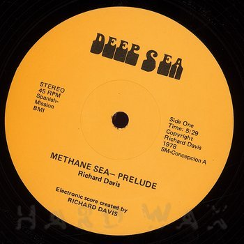 Cover art - Richard Davis: Methane Sea