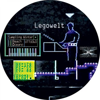 Cover art - Legowelt: Sampling Winter