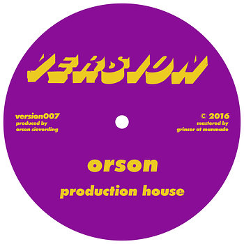 Cover art - Orson: Production House