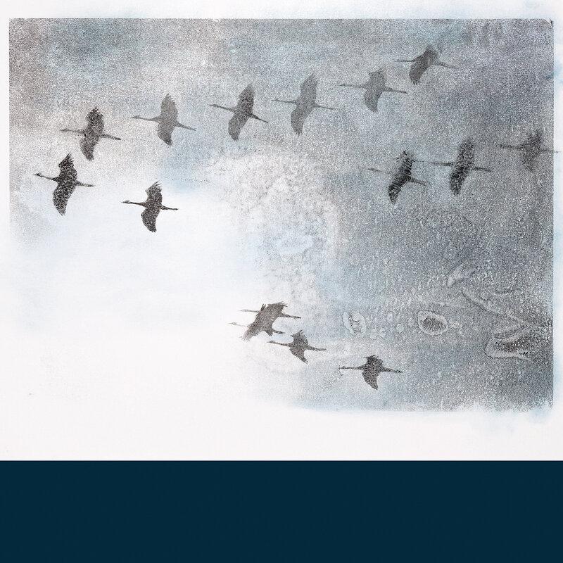 Cover art - Stephen O'Malley: Gruidés