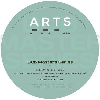 Cover art - Various Artists: Dub Masters Series I