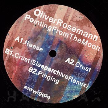 Cover art - Oliver Rosemann: Pointing From The Moon