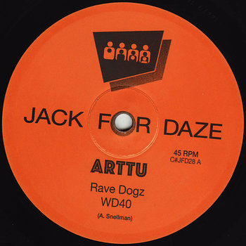 Cover art - Arttu: Rave Dogz