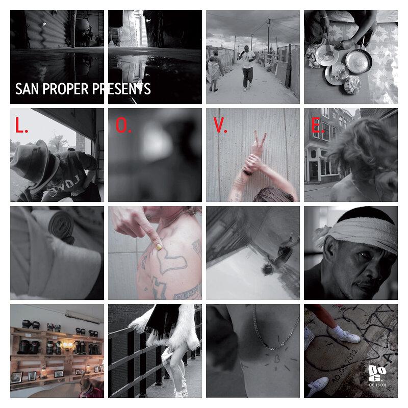Cover art - San Proper: L.O.V.E.