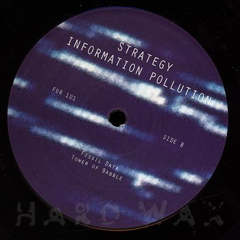 Cover art - Strategy: Information Pollution