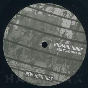 Cover art - Richard Hinge: New York Trax 01