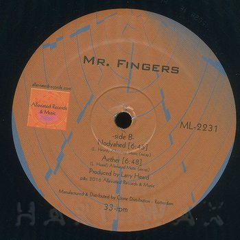 Cover art - Mr. Fingers: Outer Acid EP