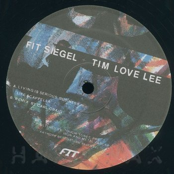 Cover art - Fit Siegel & Tim Love Lee: Living Is Serious Business