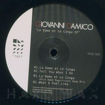 Cover art - Giovanni Damico: La Dame Et Le Conga EP