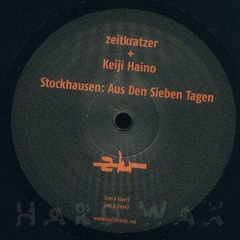 Cover art - Zeitkratzer + Keiji Haino: Stockhausen: Aus Den Sieben Tagen