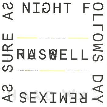 Cover art - Russell Haswell: As Sure As Night Follows Day Remixes