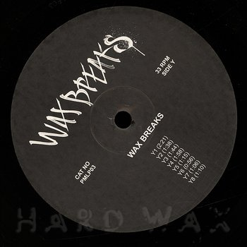 Cover art - Paradox: Wax Breaks