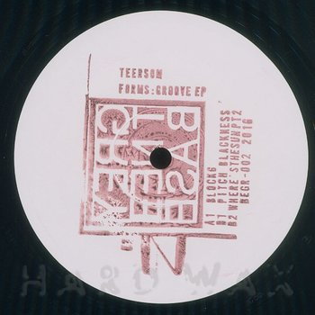 Cover art - Teersom: Forms Grooves EP