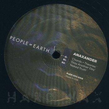 Cover art - Anaxander: Chords + Theories