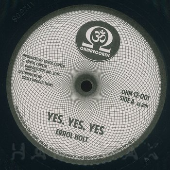 Cover art - Errol Holt: Yes Yes Yes