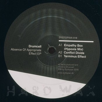 Cover art - Drumcell: Absence Of Appropriate Effect