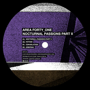 Cover art - Area Forty_One: Nocturnal Passions Part II