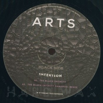 Cover art - Infektion: The Black Infinity